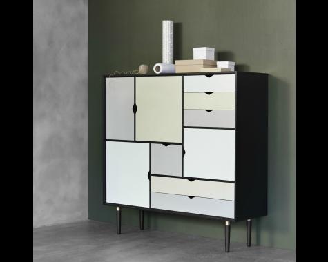 Andersen Furniture - S3 Opbevaringsmøbel / Skænk - SORT