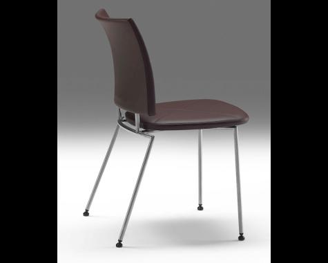 Naver Collection - GM 4115 + 4125 Panther - Spisebordsstol - U. armlæn