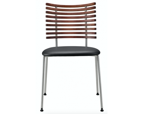 Naver Collection - GM 4105 Tiger - Spisebordsstol u. armlæn - Rustfrit stål