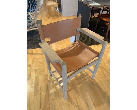 DEMO: Fredericia Furniture - FF 3238 Spanske spisearmstole, 4 stk.