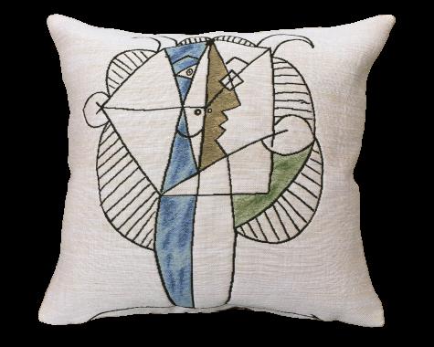 Poulin Design - Picasso - Tête de faune chevelu - Pude
