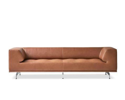Erik Jørgensen - EJ 450 - Delphi Sofa - Elegance Walnut Læder